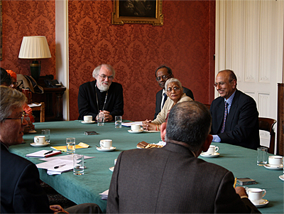 Archbishop at Inter Faith Meeting