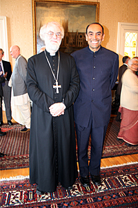 Archbishop with Professor Rambachan