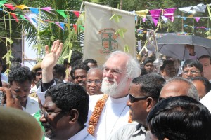 Archbishop in Googainallur, Diocese of Vellore, South India, October 2010