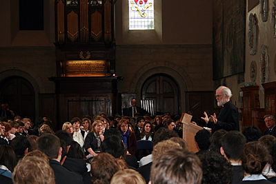 Archbishop Rowan at Westminster School