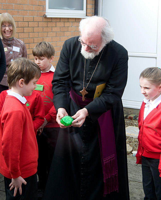 Chestnut Elementary: Archbishop's Visit To Lincoln