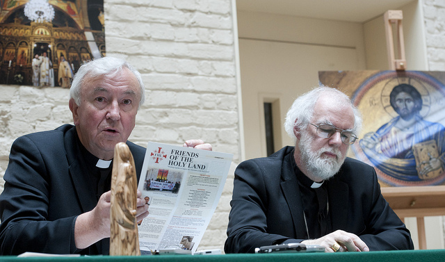Archbishop Vincent Nichols and Archbishop Rowan Williams © Marcin Mazur