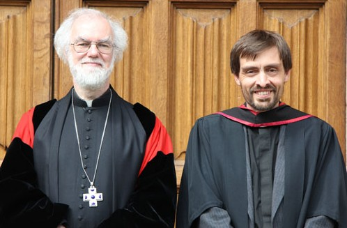 Archbishop with the Revd Tim Buckley