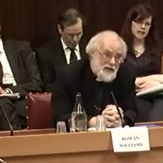 Archbishop in House of Lords Committee