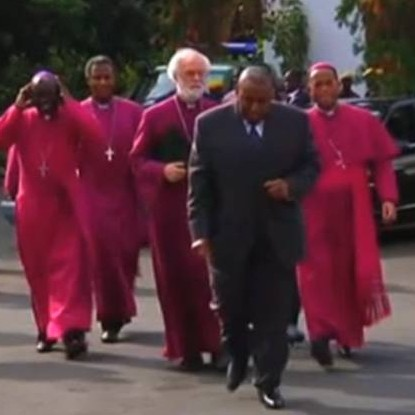 Archbishops meet with President Mugabe