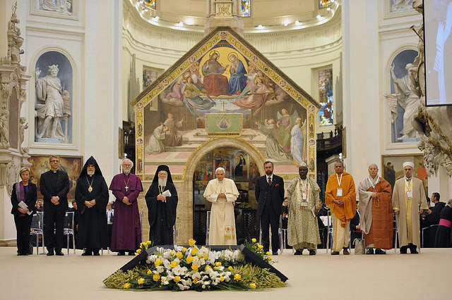 2011 World Day of Prayer for Peace, Assisi.  Photo: © news.va