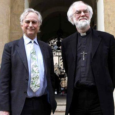 Prof Richard Dawkins and Archbishop Rowan Williams
