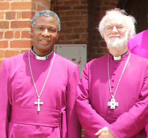 Archbishop Thabo Makgoba and Archbishop Rowan Williams, October 2011