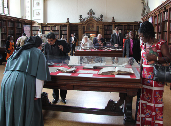 Lambeth Palace Library Exhibition - Anglican Communion visit to Lambeth Palace