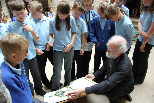 Visit of Archbishop Rowan Williams School to Lambeth Palace
