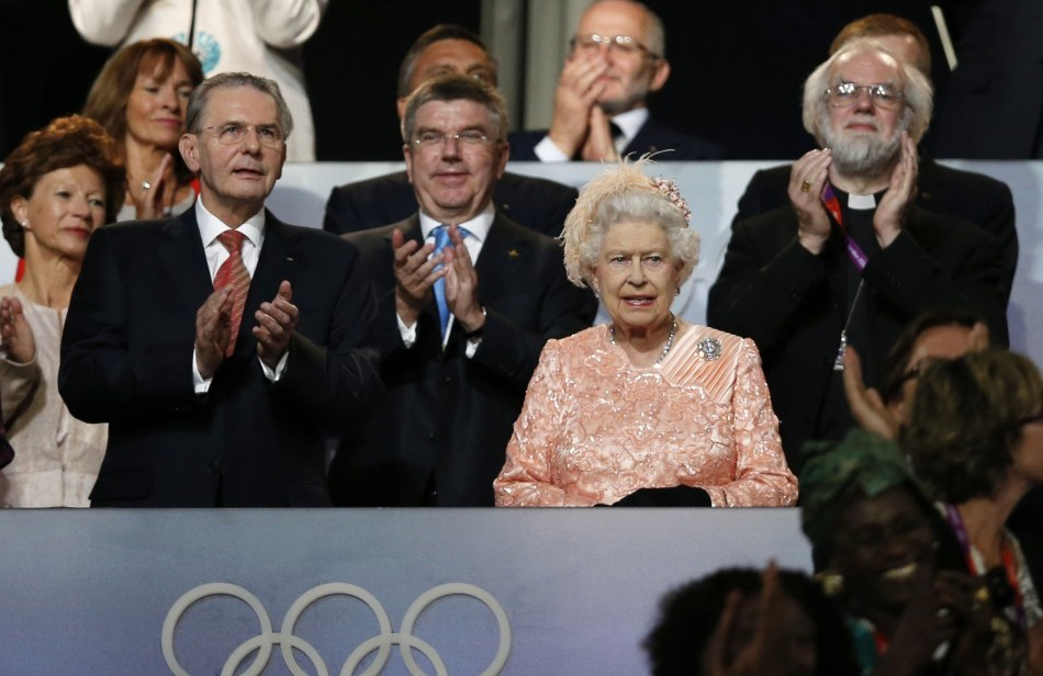 Opening Ceremony, London 2012 Olympic Games.  Photo: Matt Dunham/Associated Press