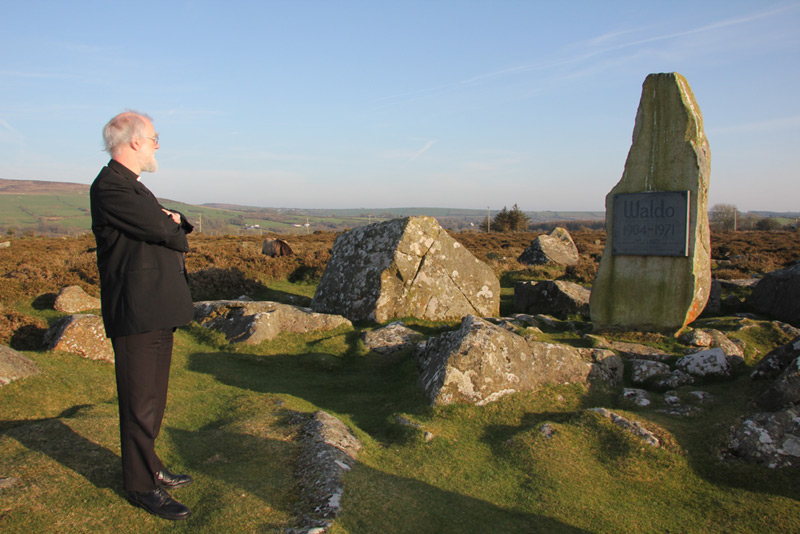 Archbishop Rowan Williams at the Waldo Williams memorial