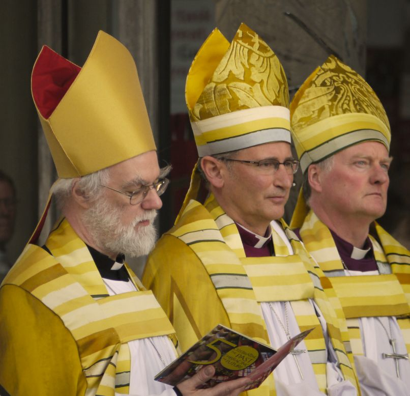 Archbishop Rowan, Bishop Christopher, Bishop John