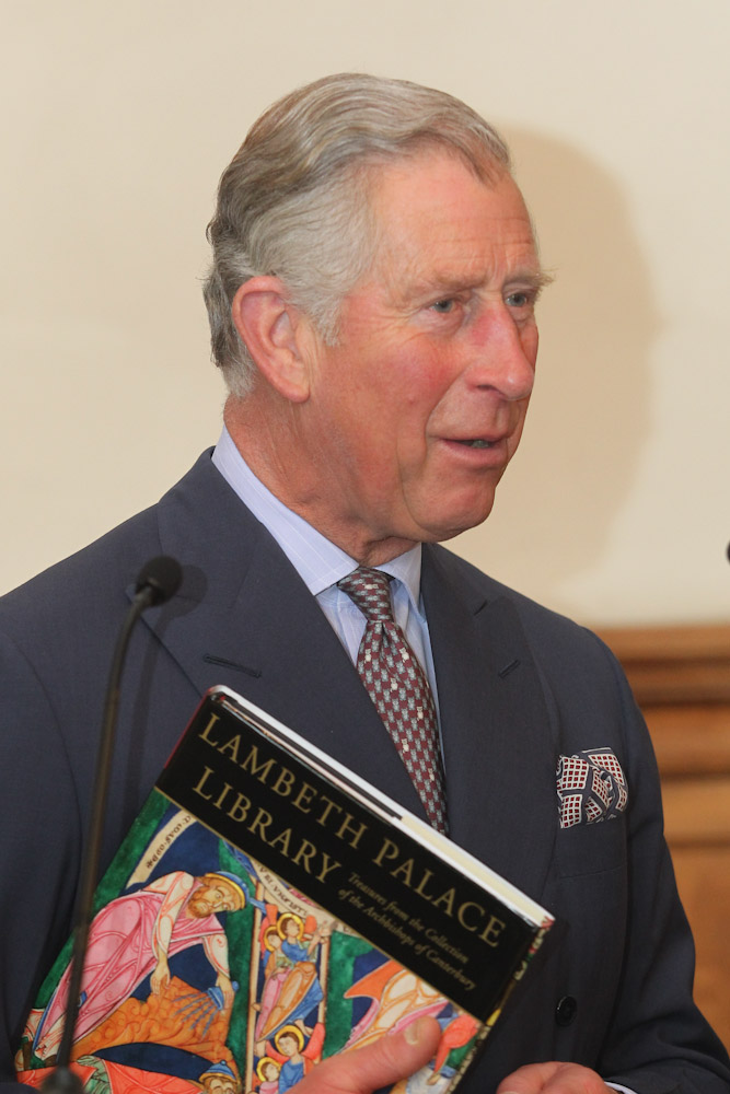 Prince Charles at Lambeth Palace