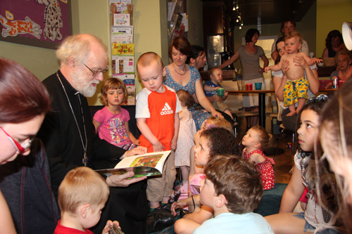 Archbishop at Coffee Tots, Coventry