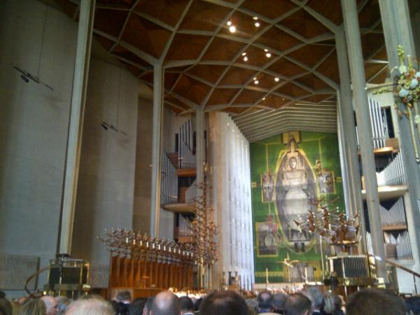 Inside Coventry Cathedral. Photo: Jonathan Foyle