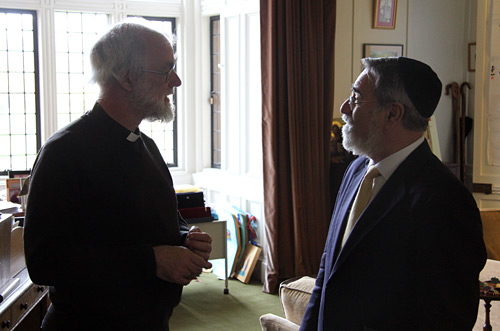 Dr Rowan Williams and Lord Sacks