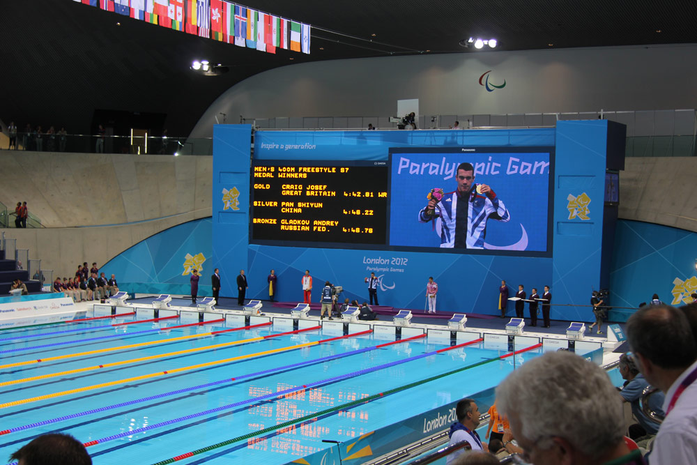 Aquatics Centre, London 2012 Paralympic Games