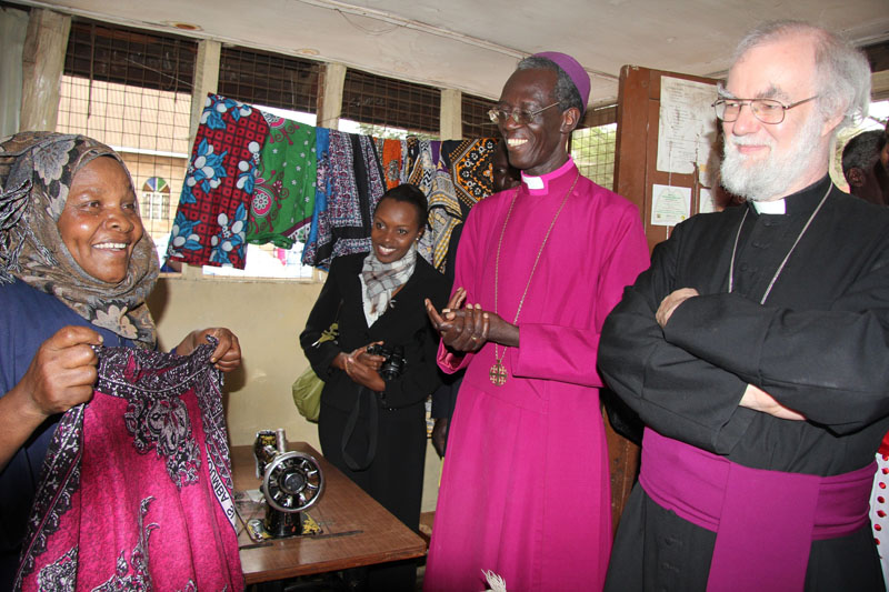 Tailoring project in Kibera, Nairobi