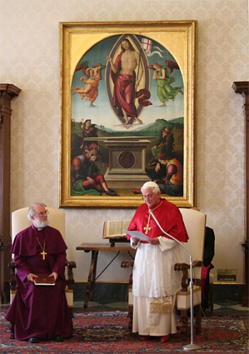 Archbishop and Pope Benedict XVI