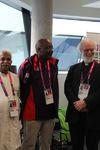 Archbishop Rowan with chaplains at the London 2012 Paralympic Games