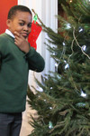 Pupils from St Jude's decorate the Lambeth Palace Christmas trees.jpg