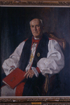 1945- Geoffrey Francis Fisher. Artist: Middleton Todd. Oil on canvas, 121 x 98 cms.