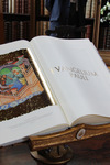 The Pope's gift to the Archbishop - a copy of the Codex Pauli, an illustrated text of Paul's letters