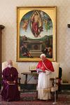 The Archbishop and Pope-Benedict XVI, Rome 2006