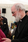 The Archbishop and Archbishop Desmond Tutu at Hay-on-Wye Festival 2009