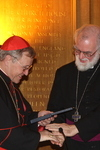 The Archbishop with Cormac Cardinal Murphy-O'Connor, January 2009