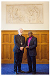 The Archbishop of Canterbury and The Archbishop of York in Manchester March 2011