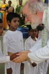 The Archbishop at the Arunima Hospice India October 2010