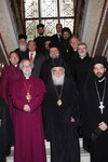 The Archbishop with Members of the Greek Orthodox Church, Athens November 2010