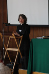 The Revd Professor Sarah Coakley speaking at the 'Transformations' conference